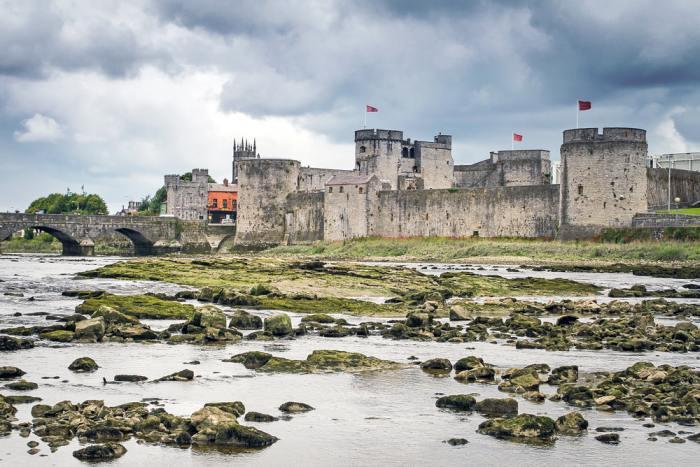 St Johns Castle in Limerick