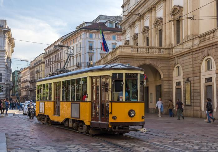 Milan Tram Network