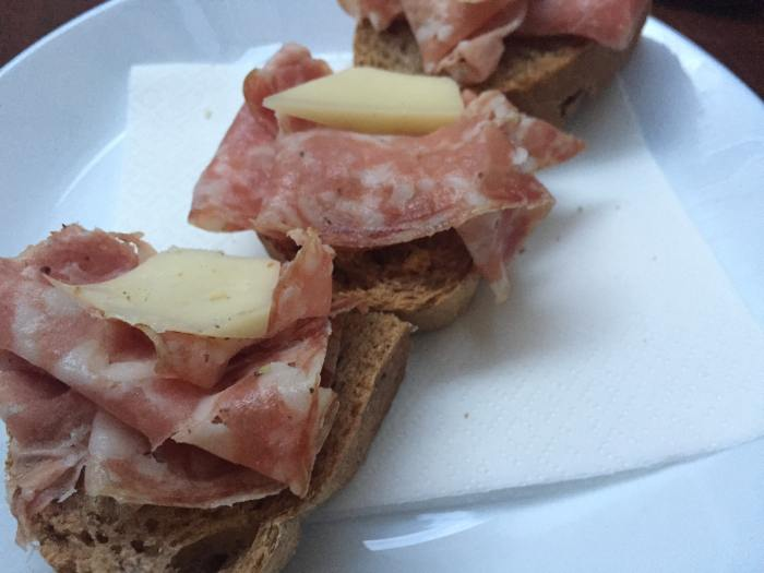 If you're wondering is venice expensive, eating cicchettis will lower your Venice trip cost