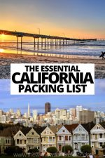 The Essential California Packing List