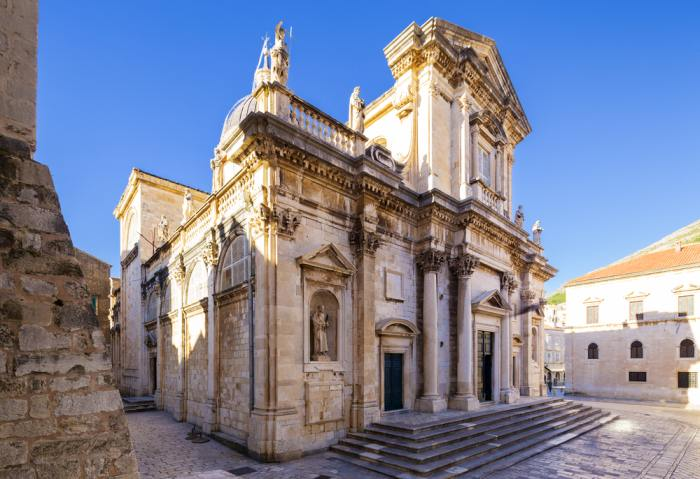 Church of St Ignatius in Dubrovnik