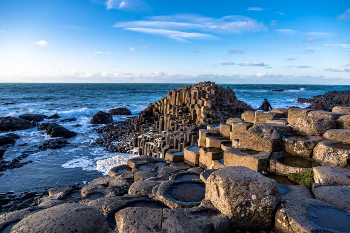 A day trip to Giant's Causeway is a popular reason to visit Belfast over Dublin