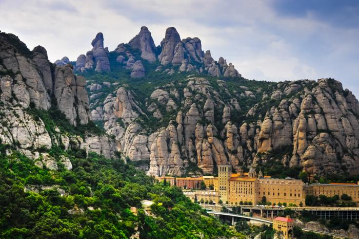 Montserrat is a great day trip if you have 4 days in Barcelona