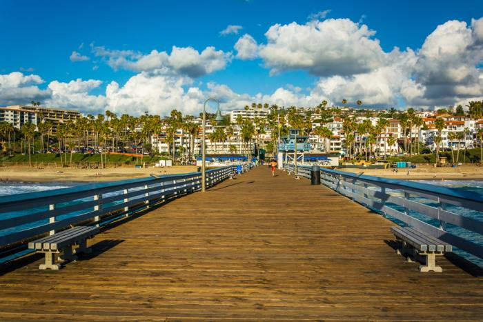 Fishing pier in San Clemente