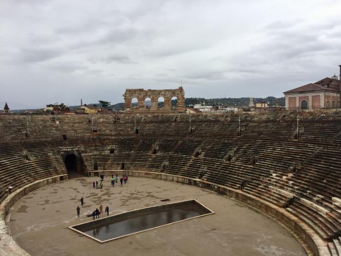 Roman Area is the first stop on your one day in Verona itinerary
