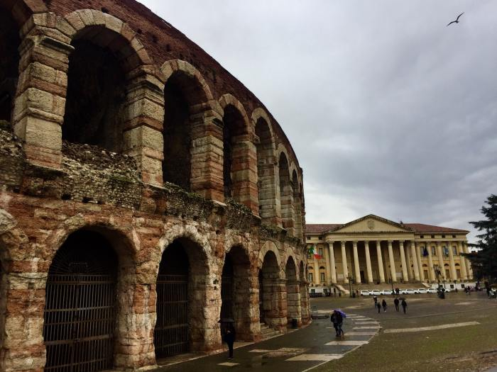 Visiting the Roman Arena is a must on a Venice to Verona day trip