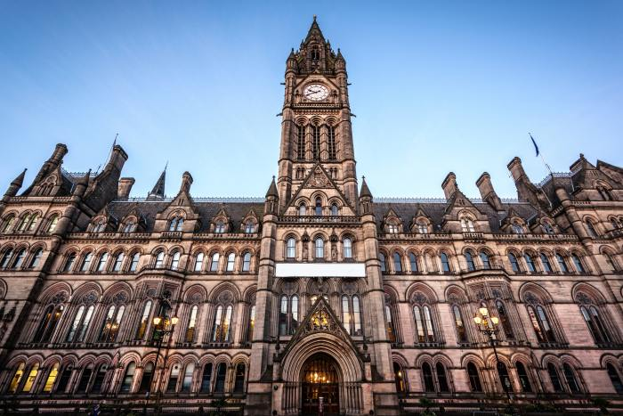 Town hall of Manchester