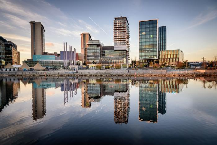 Salford Quays is a great way to finish your weekend in Manchester itinerary