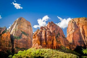 Zion National Park is the last stop on the Denver to Las Vegas drive