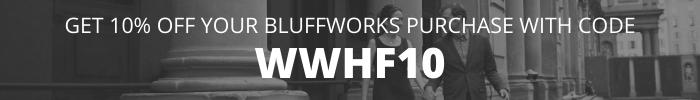 Bluffworks discount code