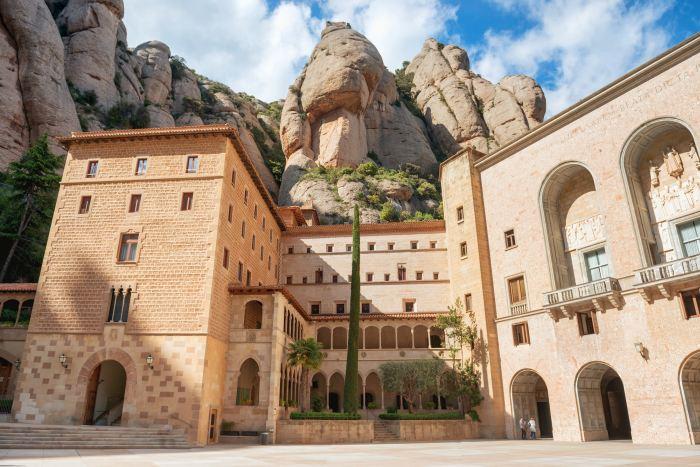 Santa Maria Monastery in Montserrat