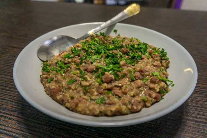 Georgian Lobio: Red Bean Stew