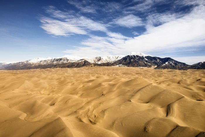 Great Sand Dunes National Park is a must stop on the Denver to Santa Fe drive