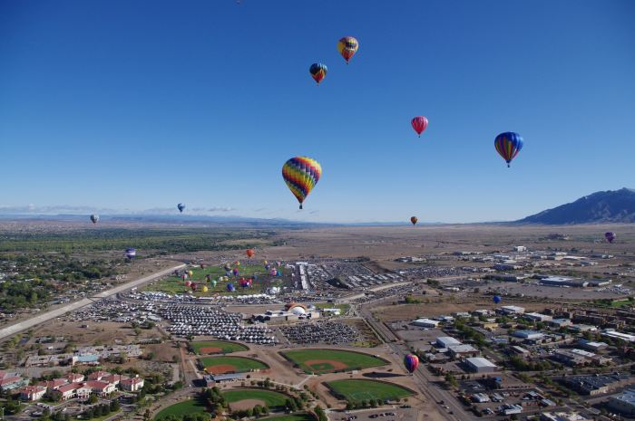 Hot Air Balloons in Albuquerque