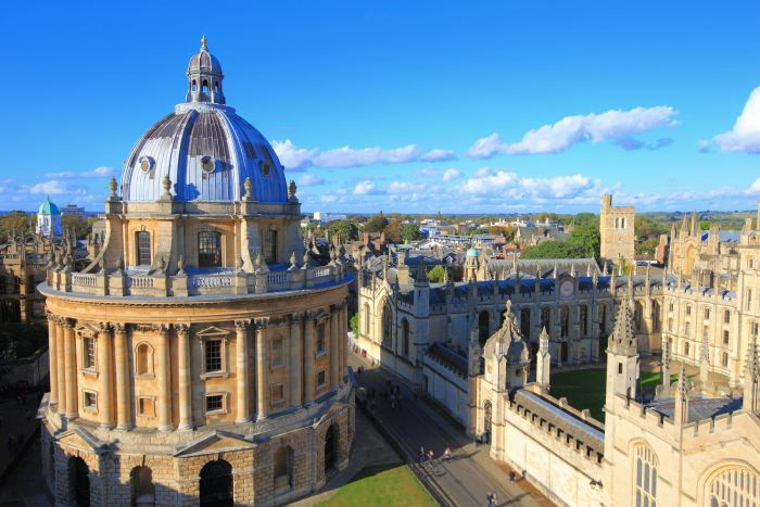 The university town of Oxford is the perfect first stop on a London to Manchester drive