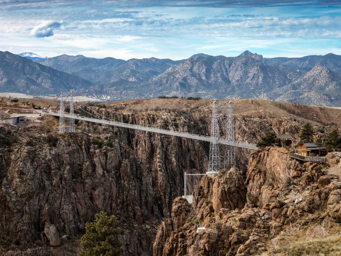 The Royal Gorge Bridge is the perfect stop on the Denver to Albuquerque drive