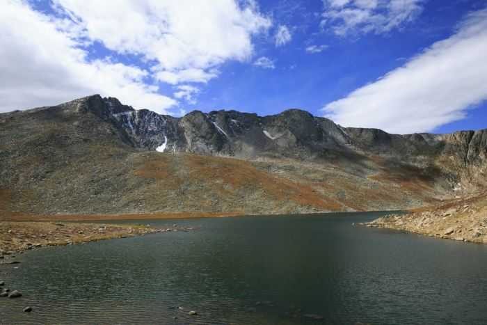 Summit Lake on the Mount Evans Byway