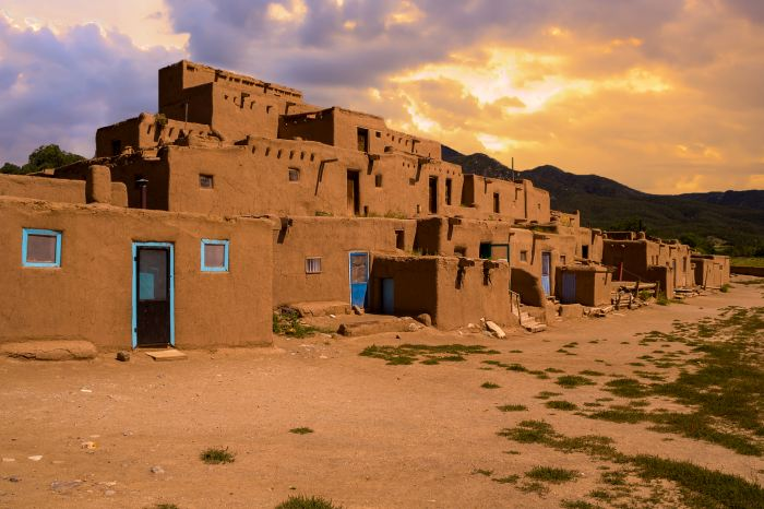 Ancient City of Taos is the perfect stop on the Denver to albuquerque drive