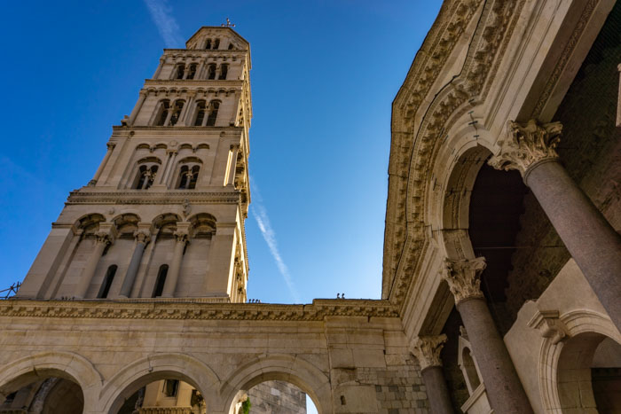 Climbing the Bell Tower is a great way to start your 1 day in Split itinerary