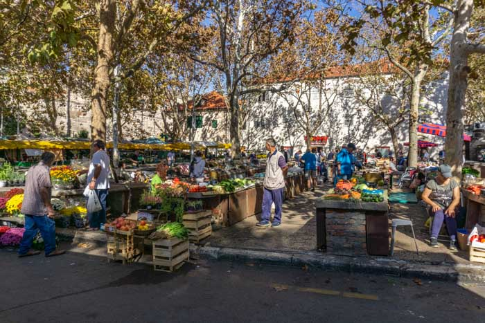 Visiting the Green Market is a great addition to your Split Itinerary