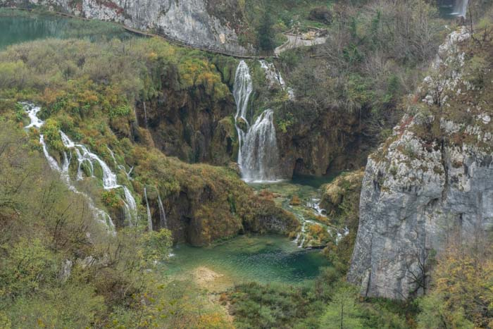 Start your Plitvice Lakes day trip from Split or Zagreb at Entrance 1