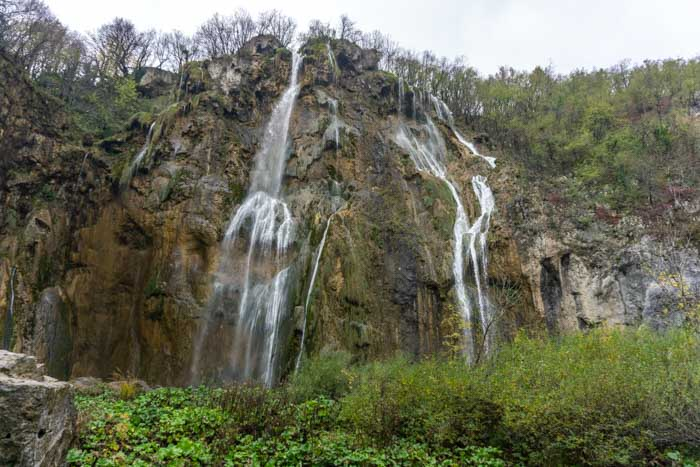 Veliki Slap is a must see on your Plitvice Lakes day trip from Seville