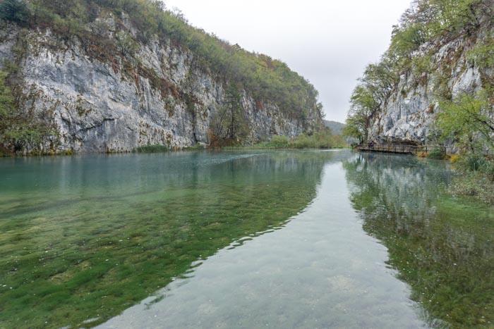 Gorgeous lakes of Plitvice