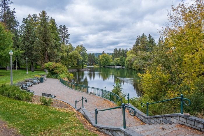 Drake Park in downtown Bend