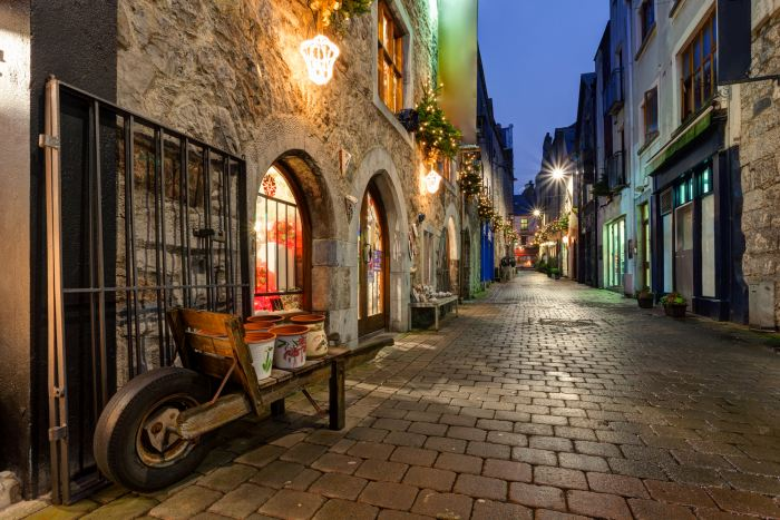 Galway's Old Town - worth exploring on whichever 7 day ireland road trip itinerary you choose!