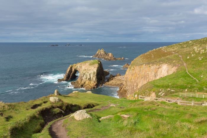 Land's End is a must stop on any 3 days in Cornwall itinerary