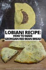 Lobiani Recipe: How to Make Georgian Red Bean Bread