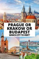 Prague or Krakow or Budapest: Which City to Visit?
