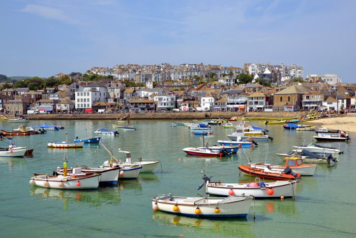 The charming village of St Ives is a great place to stay in Cornwall