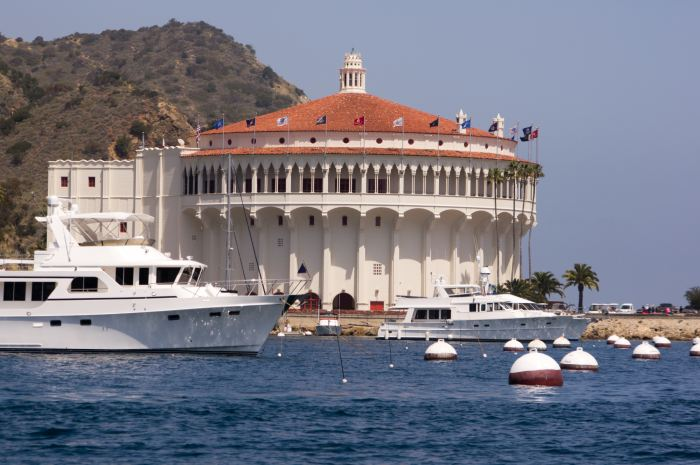 The historic Avalon Casino is must visit on your Catalina Island day trip