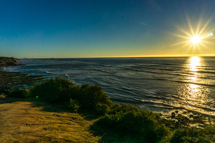 Watching the sunset at Sunset Cliffs is the perfect end to day 3 of your San Diego itinerary