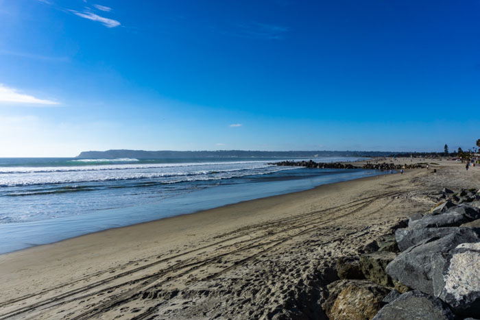 Coronado Beach is a great way to spend day 4 of your San Diego itinerary
