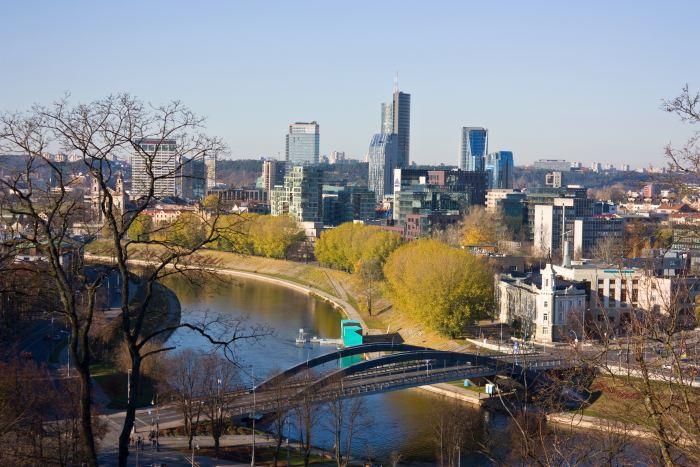 Vilnius' Business District