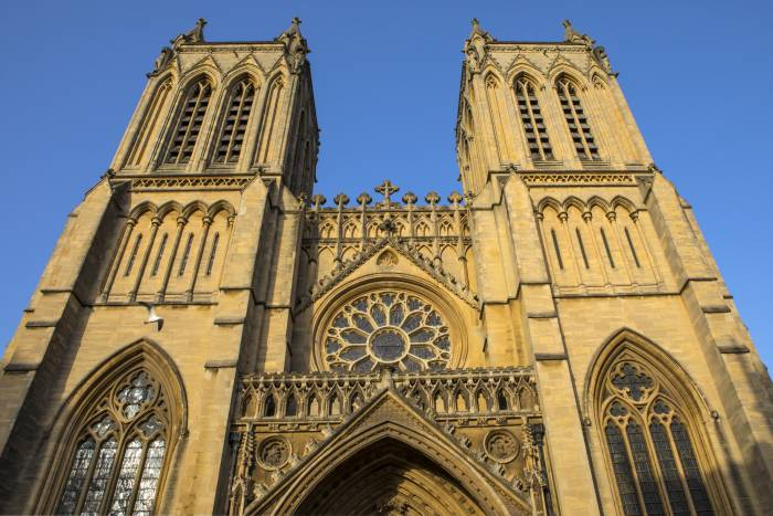 Bristol Cathedral is a top sight to see on a Bristol day trip from London