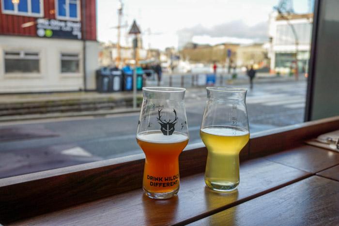 Craft beer at Wild Beer Co in Bristol