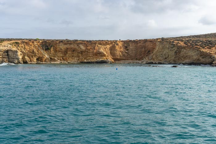 The Blue Lagoon in Malta