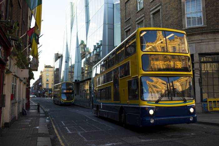 Taking the bus in Dublin is a great way to lower your costs