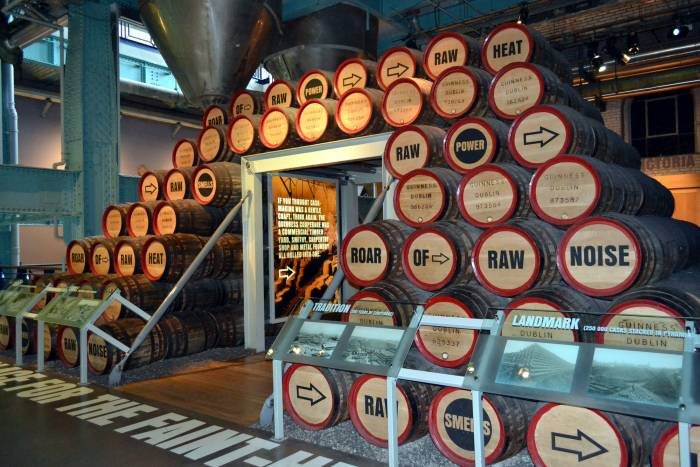 Guinness Storehouse Barrels