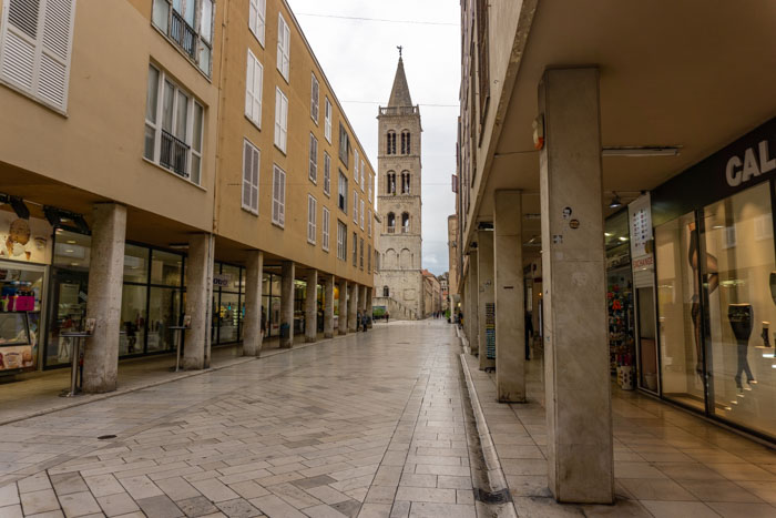 Wandering through Zadar's Old Town