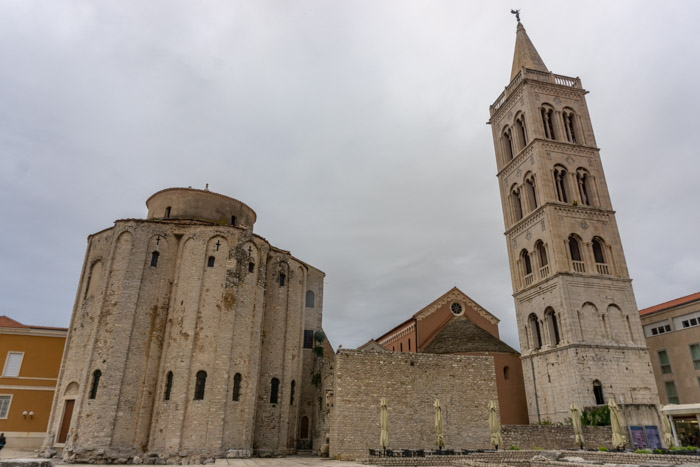 Church of St Donatus & Zadar Cathedral's Bell Tower