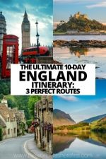 The Ultimate 10-Day England Itinerary: 3 Perfect Routes