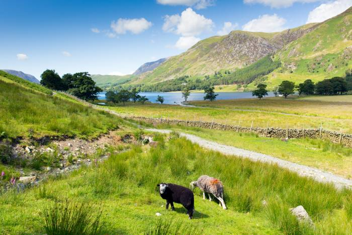 Beautiful scenery in the Lake District