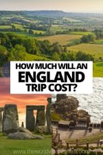 How Much Will an England Trip Cost?