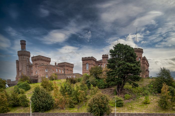 Inverness Castle from the Riverbank