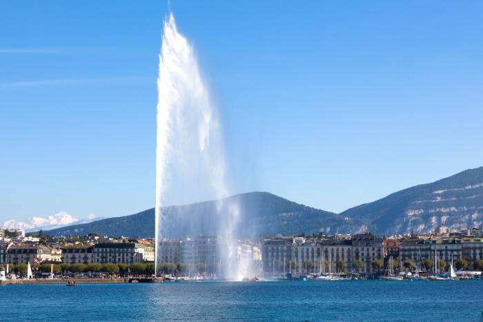 Jet D'Eau - Geneva's most famous landmark