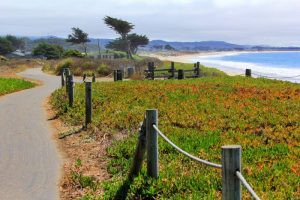 Beautiful Half Moon Bay is a great place to stop between San Francisco & Big Sur